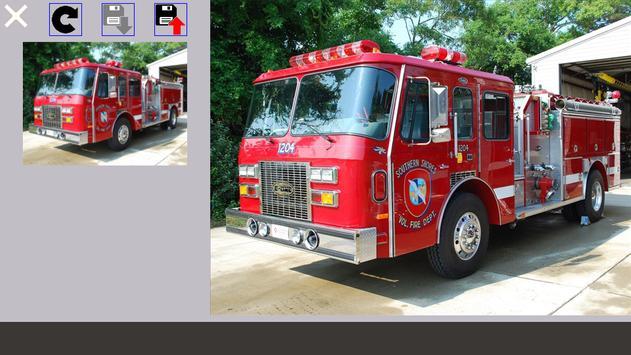 Puzzle Fire Truck screenshot 7