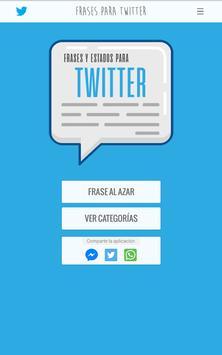 Frases y Estados para Twitter screenshot 9