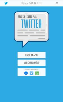 Frases y Estados para Twitter screenshot 17