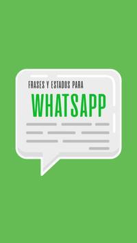 Frases y Estados para WhatsApp poster