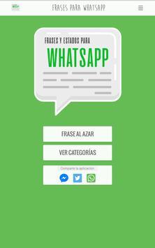 Frases y Estados para WhatsApp screenshot 9