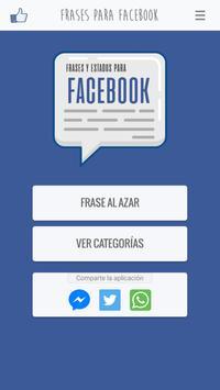 Frases y Estados para Facebook screenshot 1