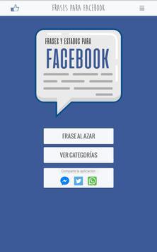 Frases y Estados para Facebook screenshot 9