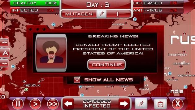 Virus Shock Bio Hazard Game apk screenshot