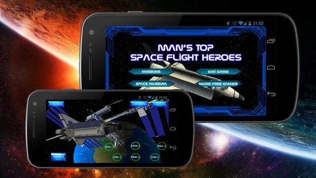 Man's Top Space Flight Heroes poster