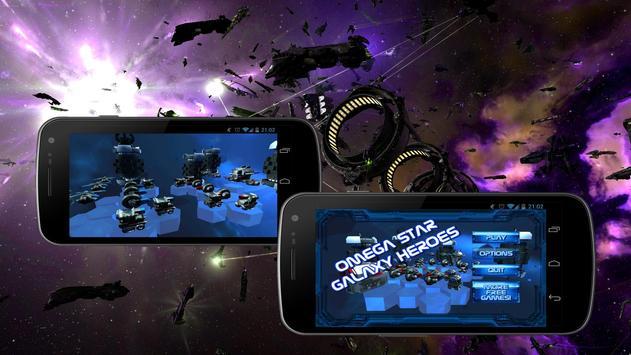 Omega Star Galaxy Heroes apk screenshot
