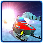Snow Mobile Winter Racing King icon