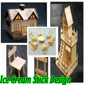 Ice Cream Stick Design icon