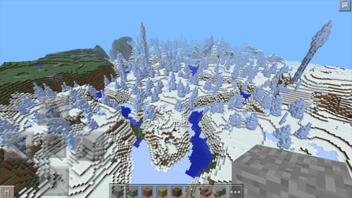 Ice Spikes Castle Map For Minecraft Mcpe For Android Apk Download