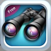Binoculars Free - Zoom Camera icon