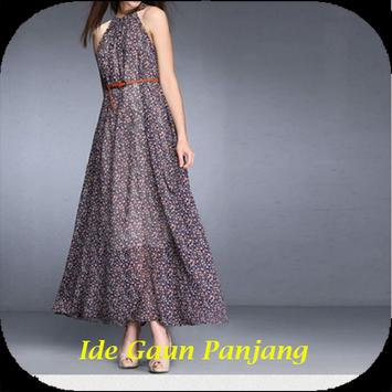 Ide Dress Panjang Malam poster