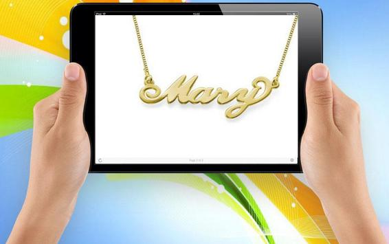 Idea Necklace Name screenshot 2