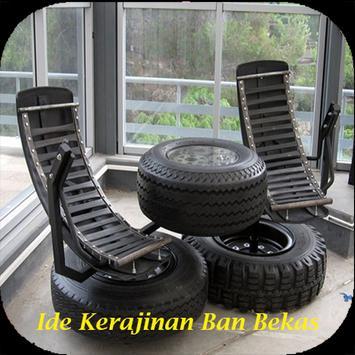 Ide Kerajinan Ban Bekas poster