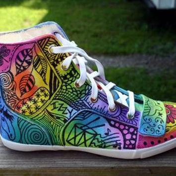 Shoes Art Idea poster