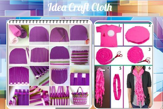 Idea Craft Cloth poster