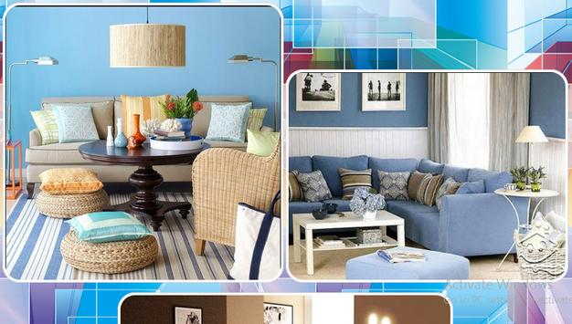 Living Room Colour Combination Apk Screenshot