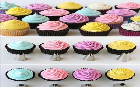 Idéias de decoração de cupcake screenshot 3