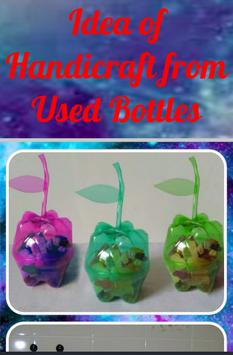 Idea of Handicraft From Bottle poster