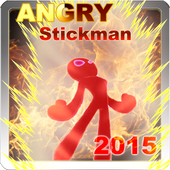 Angry StickMan icon