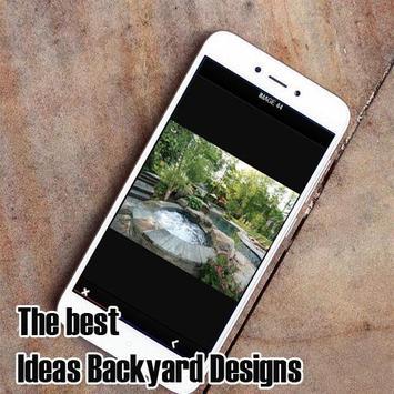Ideas Backyard Designs screenshot 3
