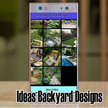 Ideas Backyard Designs screenshot 2