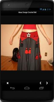 Ideas Design Crochet Belt screenshot 1