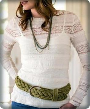 Ideas Design Crochet Belt screenshot 2