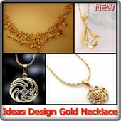 Ideas Design Gold Necklace icon