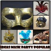 Ideas Mask Party Popular icon