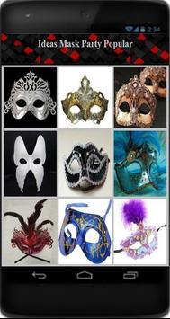 Ideas Mask Party Popular apk screenshot