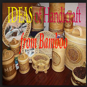 Idea of Handicraft from Bamboo icon