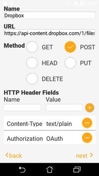 Requester: GET, POST, PUT, HEAD, DELETE screenshot 1
