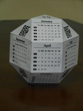 Desain Kalender Unik screenshot 15