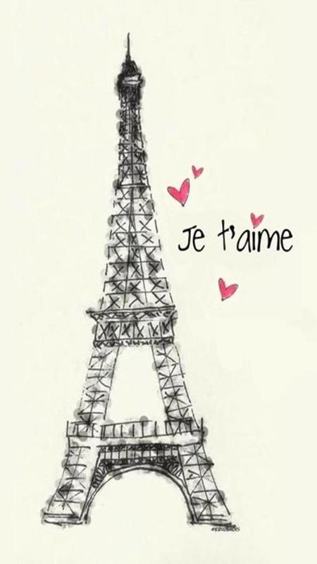 I Love Paris Wallpaper 6