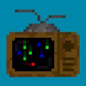 Red Pixel Dodge icon