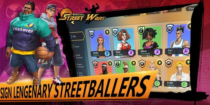 Street Wars: Basketball पोस्टर