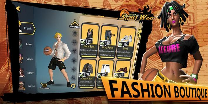 Street Wars: Basketball apk स्क्रीनशॉट