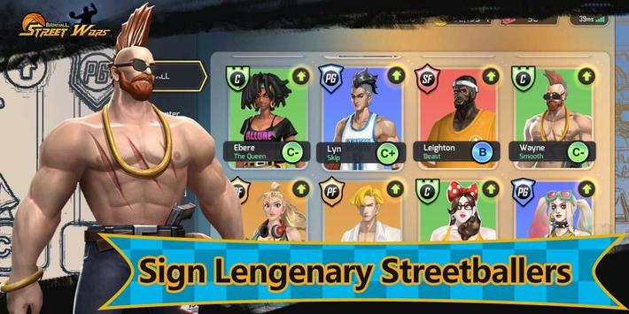 Street Wars: Basketball apk screenshot