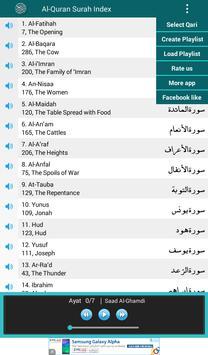 Al Quran MP3 Player القرآن screenshot 10