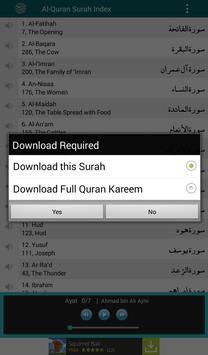 Al Quran MP3 Player القرآن screenshot 14