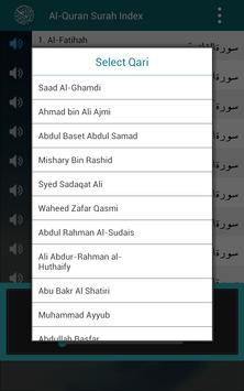 Al Quran MP3 Player القرآن screenshot 1
