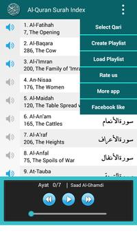 Al Quran MP3 Player القرآن screenshot 2