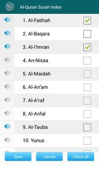 Al Quran MP3 Player القرآن screenshot 4