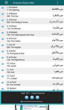Al Quran MP3 Player القرآن screenshot 8