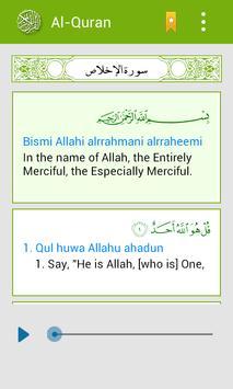 Al Quran Multi Languages apk screenshot