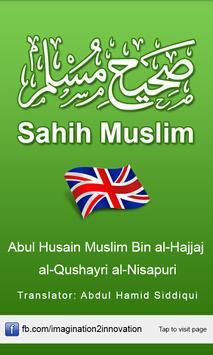 Sahih Muslim English poster