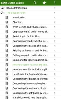 Sahih Muslim English apk screenshot