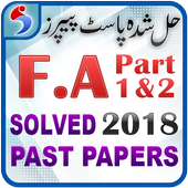 FA Part 1 & 2 Past Papers Solved Free – Offline icon