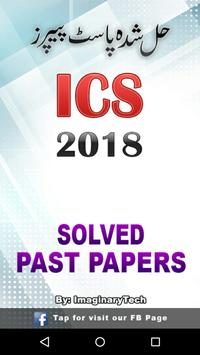ICS Part 1 & 2 Past Papers Solved Free – Offline poster