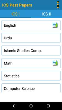 ICS Part 1 & 2 Past Papers Solved Free – Offline screenshot 1